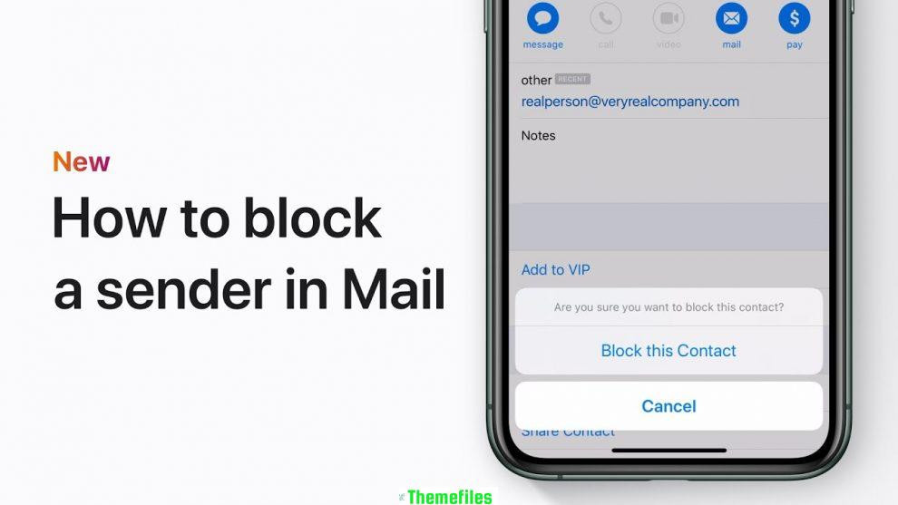 How to block emails on Gmail