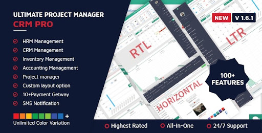 ultimate project manager crm pro nulled - www.themefiles.us