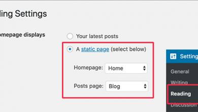 how to create custom homepage