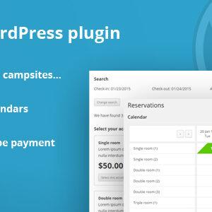 HBook v1.8.7 - Hotel booking system - WordPress Plugin nulled