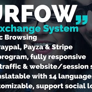 Surfow V4.0.1 - Traffic Exchange System V4.0