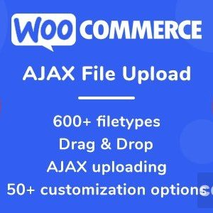 WooCommerce AJAX File Upload (600+ filetypes) v2.0.0