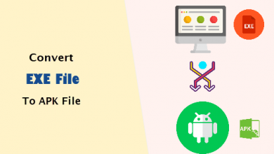 How to convert files from EXE to APK