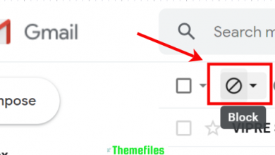 How to block emails on Gmail - www.themefiles.us