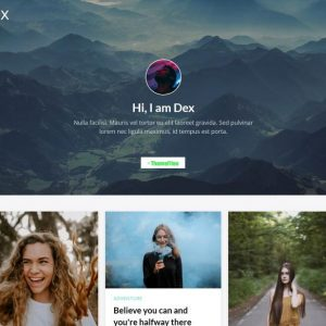 Dex - Modern Blog/Portfolio Blogger Theme - www.themefiles.us