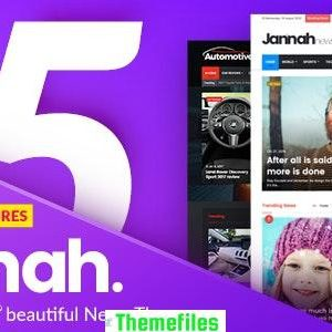 Download Free Jannah News WordPress theme v5.0.7 Free   Themefiles.us